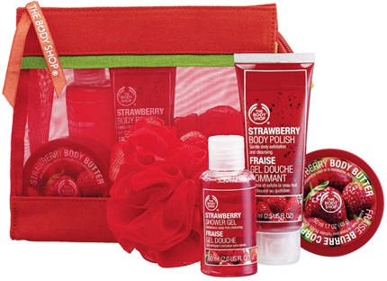 how to use body shop strawberry body butter