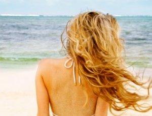 beach sexy hair